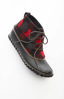 Red Plaid Boots | eBay