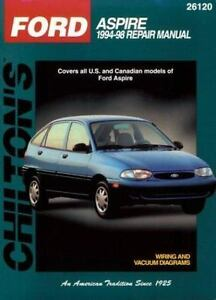 1994 1997 chilton ford aspire repair manual 9780801989728 ebay rh ebay com Ford Aspire Service Manual 1994 Ford Aspire Motor
