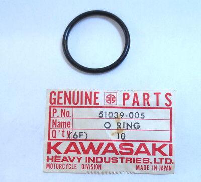 NOS KAWASAKI 1974 1975 KZ400 FUEL COCK CUP O-RING PART# 51039-005