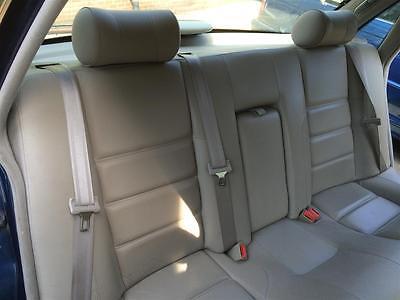 Jaguar XJ Leather Interior  One Owner From New - Jaguar XJ Seats  Cream Magnolia
