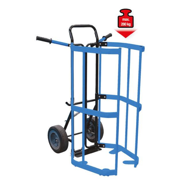 Ks Tools Räder-und Vagón Barril, Reifentransport, Vagón Barril 160.0063 Carro