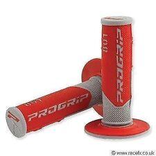 Progrip 801 Bar manillar Grips Rojo Gris Motocross Mx Enduro Honda Crf 250 450