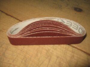 "Pack of 20 TTC 1//2/"" x 4/"" Aluminum Oxide Coarse Tool Room Stick"