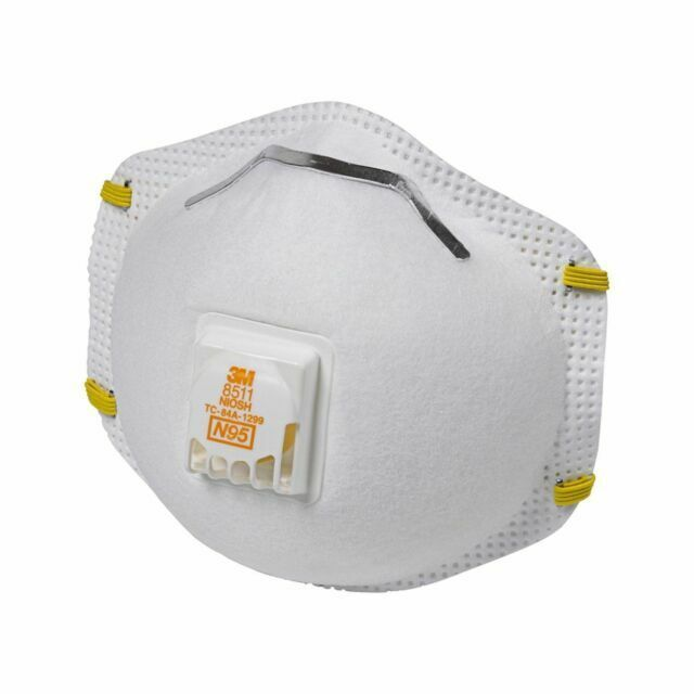 3m pro paint sanding vented respirators 8511 2 masks n95