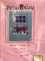 Petal Play 204 Nantucket Window Box By Joan Shey- Wall Hanging Pattern