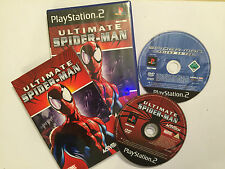 2 x SONY PLAYSTATION 2 PS2 SPIDER-MAN GAMES ULTIMATE SPIDERMAN + FRIEND OR FOE