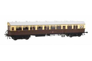 DAPOL-7P-004-004-Autocoach-GWR-Great-Crest-Western-Chocolate-amp-Cream-O-Gauge-NEW