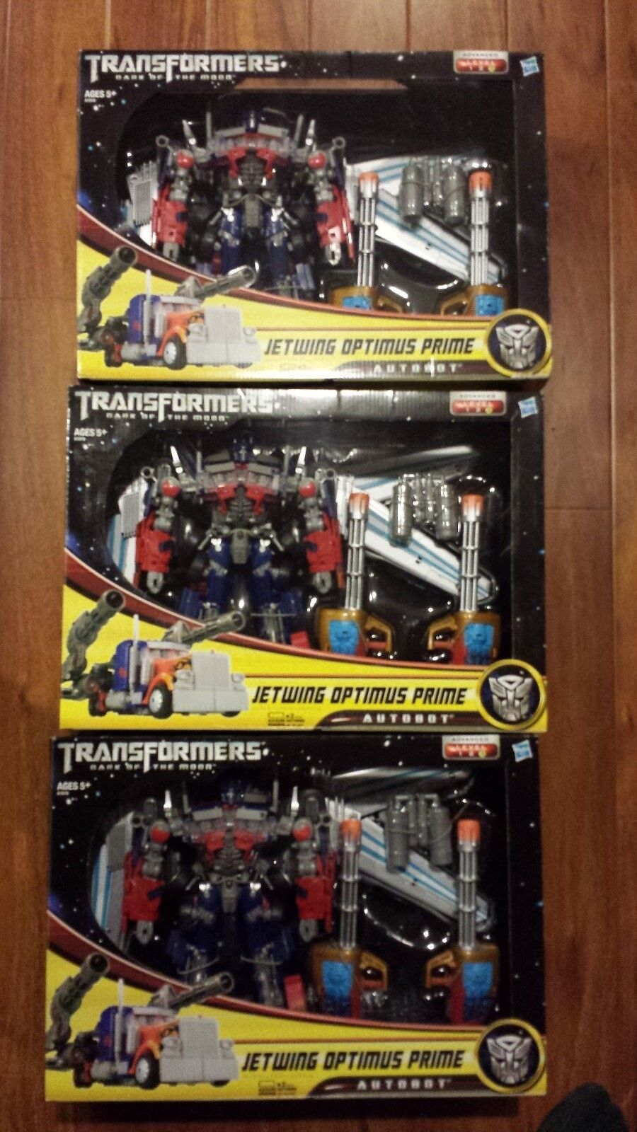 New Transformer Dark of the Moon Jetwing Optimus Prime