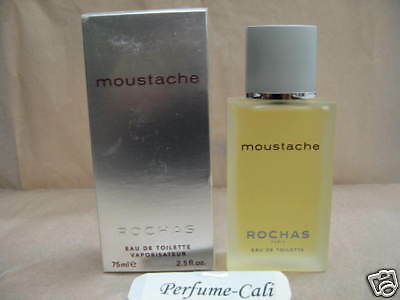 MOUSTACHE by ROCHAS 2.5 FL oz / 75 ML Eau De Toilette Spray Sealed Box