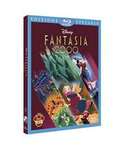 DISNEY BLU RAY Fantasia 2000 con slipcover