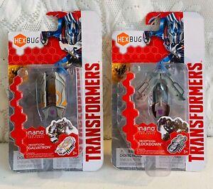 HexBug Nano Transformers Decepticon Lot Galvatron & Lockdown NEW & Sealed