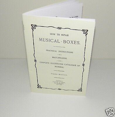 POLYPHON MUSIC BOX REPAIR MANUAL PRACTICAL INSTRUCTIONS FOR REPAIRS /& OPERATION