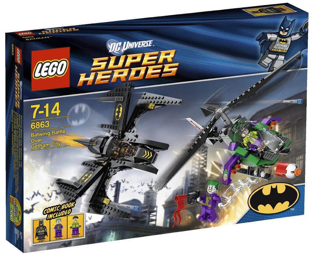 LEGO® SH 6863 6863 6863 Batwing Battle Mobil Hubschrauber Jet Batman Jocker Set Neu   OVP abd9ea