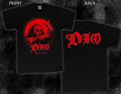 Ronnie James Dio DIO T/_shirt-SIZES:S to 6XL American heavy metal vocalist