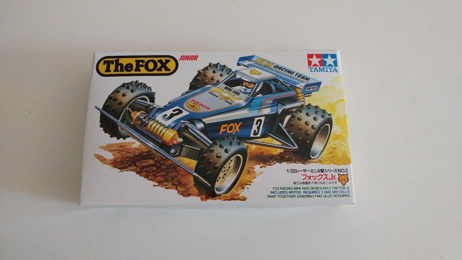 Tamiya 1 32 The Fox Jr. Mini 4WD Vintage 1986 original version 1