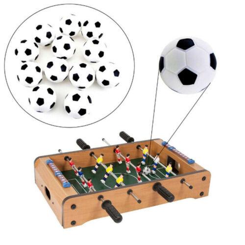 6 Pcs 31mm Table Soccer Ball Tabletop Soccer Novelties Foosball Party Game