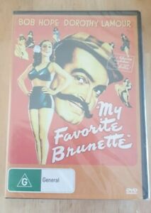 My-Favourite-Favorite-Brunette-DVD-Bob-Hope-New-Sealed-Australia-Reg-4-Free-Post