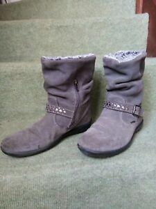 Reciclar dólar estadounidense Torpe  bottes boots fourrées fille PRIMIGI pointure 35 grises | eBay