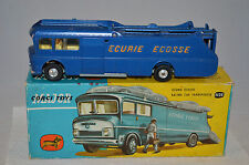 Corgi Toys 1126 Ecurie Ecosse Racing Car Transporter very near mint in box.