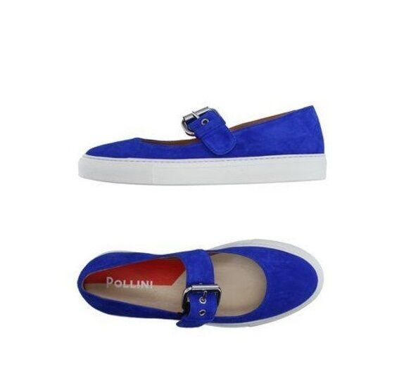 Pollini () Suede Mary Janes Janes Janes Sneakers Sz. 39 8.5 c151ac