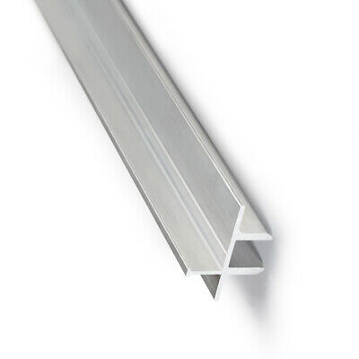 1m LED-Alu-Glaskanten-Profil Leiste Glaskantenbeleuchtung Glasboden 8mm VitrineC