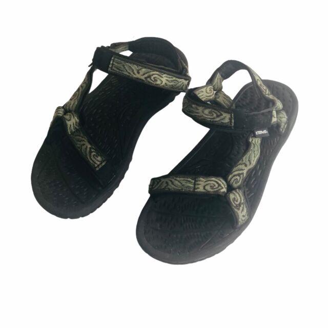 TEVA Women's Original Universal Strappy Hiking Sandals Green 6572 Size 7
