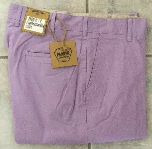 BRAND NEW-Bills khakis Parker Pant P-LILI purpleC PLAIN STANDARD SZ 33