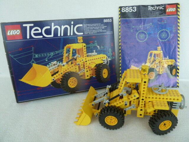 8853 Lego Technic Radlader mit Bauanleitung (BA) + Originalkarton (1988)