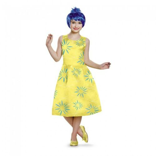 Disguise Disney Inside Out Joy Deluxe Child Girls Halloween Costume 86950