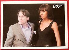 JAMES BOND - Quantum of Solace - Card #051 - Camille Embarrasses Dominic Greene
