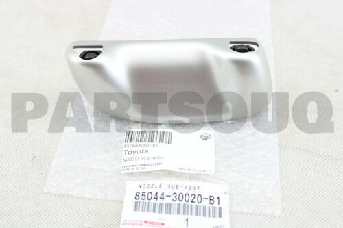 8504430020B1 Genuine Toyota NOZZLE HEADLAMP CLEANER WASHER 85044-30020-B1
