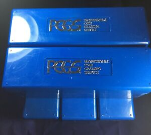 please read Used 4 PCGS Boxes Each holds 20 coins PCGS Blue Storage Boxes
