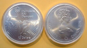 CANADA 1976 OLYMPIC $10 SILVER COIN *No 13**