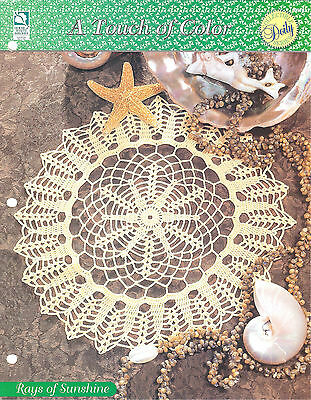 A Touch of Color HOWB Series Early Afternoon Doily Crochet Pattern