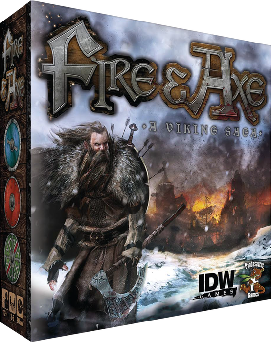 Fire and Axe Board Game IDW Games BRAND NEW ABUGames