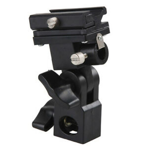 B-Type-Flash-Hot-Shoe-Bracket-Tripod-Umbrella-Holder-Light-Stand-Adapter-sp-xj