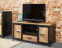 Cosmos Industrial Metal & Wood Plasma Media Unit