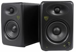 Rockville-ASM5-5-034-2-Way-200W-Active-Powered-USB-Studio-Monitor-Speakers-Pair