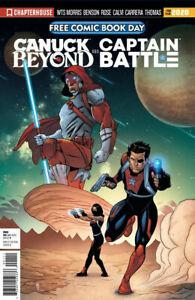 FCBD Canuck Beyond & Captain Battle Chapterhouse 2020 unstampeded - 1st Print