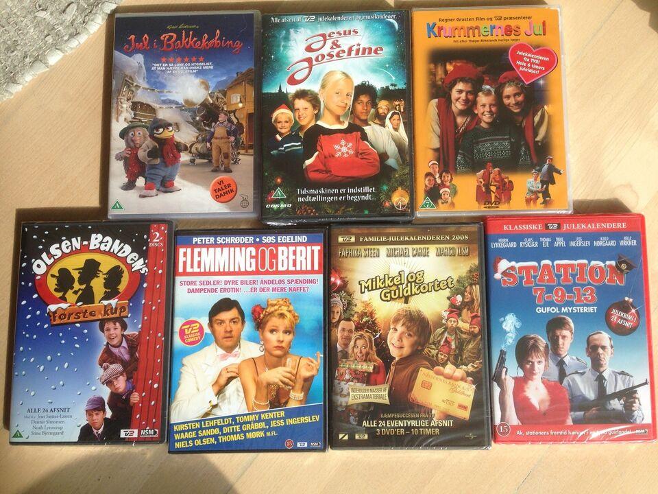 julefilm på dvd