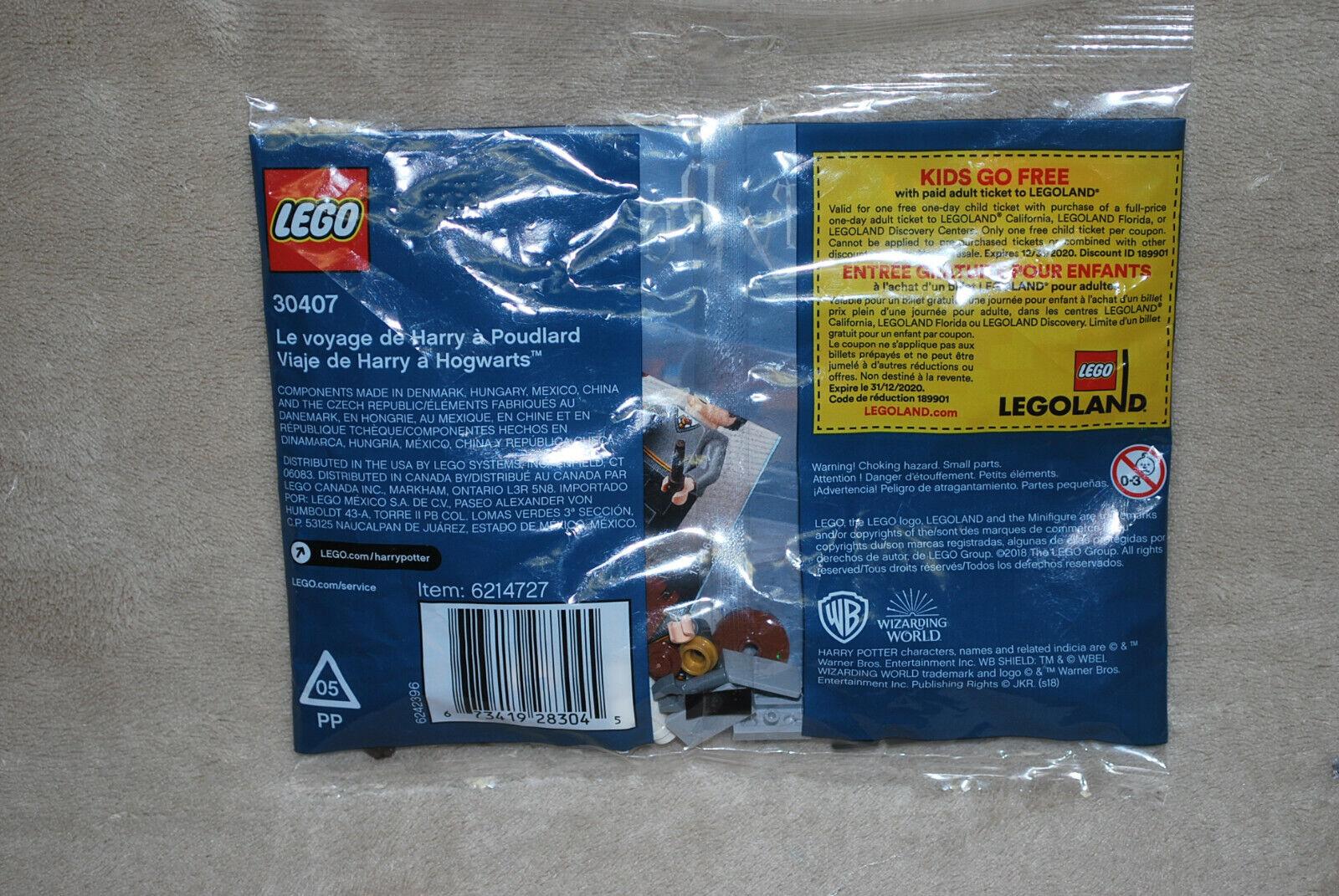 Lego 30407 Le Voyage de Harry Potter /à Poudlard