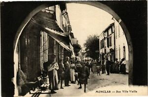 CPA MONCLAR-Rue Ville Vieille (264174)