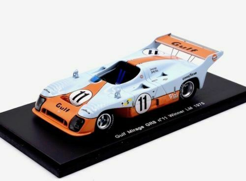 MIRAGE GR8 GULF N 11 Winner 24 H le mans 1975 43LM75 Spark 1 43 NEUF  RARE