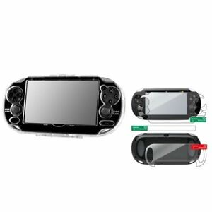 Clear-Hard-Crystal-Case-Full-Body-Screen-Protector-For-Sony-Playstation-PS-Vita