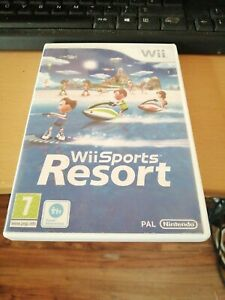 Nintendo-Wii-Game-SPORTS-RESORT-COMPLETE-WITH-INSTRUCTIONS-GWO-FAST-Free-POST
