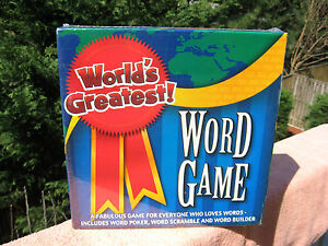 Worlds Greatest Word Game Algonquin Games