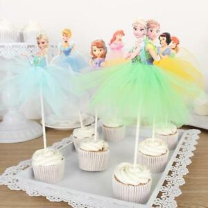Cake-Cupcake-Topper-Handmade-Lovely-Princess-Skirt-Decoration-Party-Birthday-New