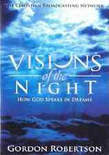 VISIONS OF THE NIGHT HOW GOD SPEAKS IN DREAMS NEW ROBERTSON DVD FREE SHIP US