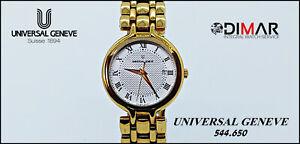Vintage Universal Genève 544.650 Wr. 3 Atm . Weite ETA.956.001 Modell Frau