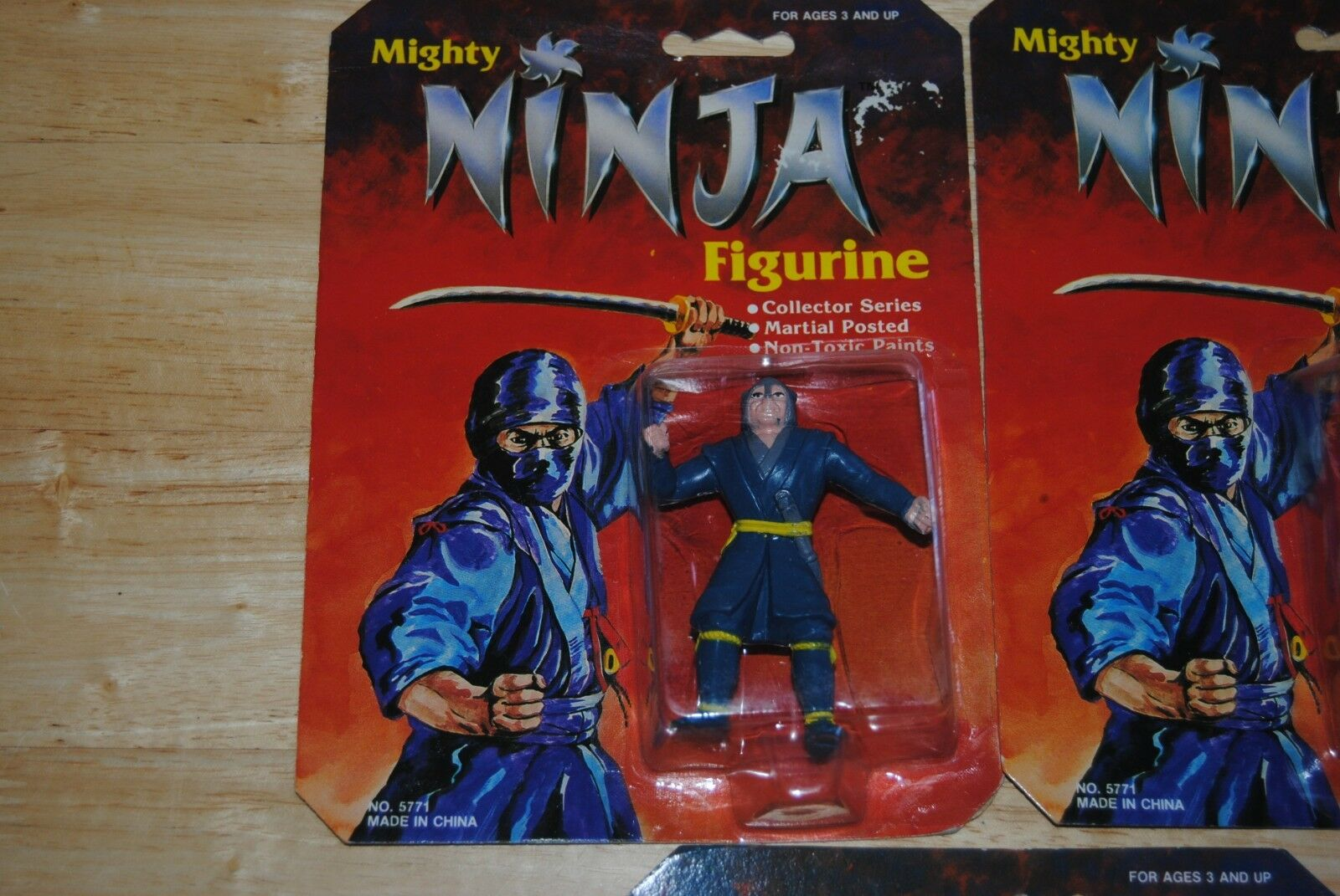 5 blister figurine figurine figurine pvc mighty ninja 921944